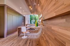 Tel Aviv Apartment - curved wall/floor/ceiling blended together