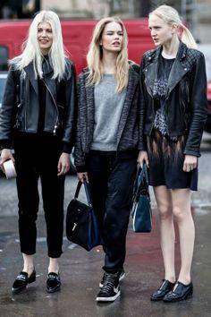 Paris Fashion Week #PFW street style. ///