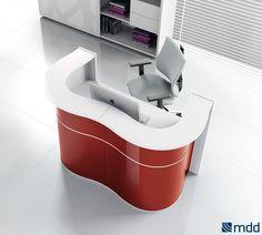#Banques #d'accueil - wave | MDD | mobilier de bureau | #meubles de bureau | meubles de bureau