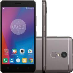 "Smartphone Lenovo Vibe K6 Dual Chip Android Tela 5"" 32GB 4G Câmera 13MP - Grafite"