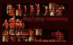 """Song that reminds me of my first love...well, he wasn't my """"love"""" but whatever.... """"Don't Stop Believing"""" from Glee."""