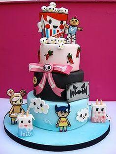 Tokidoki Cake!!! twylabug