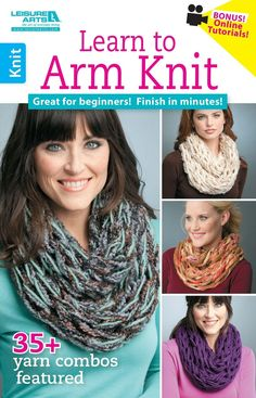 Learn to Arm Knit eBook - Leisure Arts