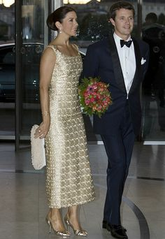 Crown Prince Frederik & Crown Princess Mary, Denmark.