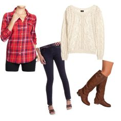 Holiday outfit inspirations from People StyleWatch! #PeopleInStyle #PMedia #ad