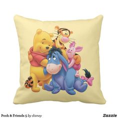 Pooh & Friends 5 Throw Pillow