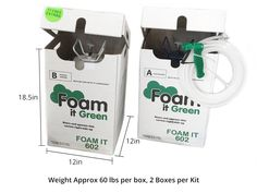 The Foam it Green Energy Efficient Home Spray Foam Kit includes 2 Foam it Green 602 Kits and 17 Free Extras to make your project a snap. Energy Efficient Homes, Energy Efficiency, Energy Use, Save Energy, Energy Kids, Solar Energy, Spray Foam Insulation Kits, Solar Powered Lamp, Diy Generator