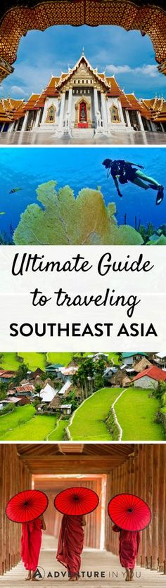 Southeast Asia | Planning a trip to Southeast Asia but don't know where to start? Check out our complete guide which has information on visas, where to stay, and highlights.