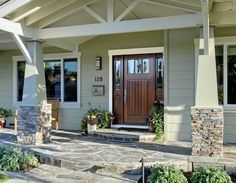 front door pictures ideas | front door ideas. Therma Tru Doors Available in Michigan at C&L Ward. goclward.com  #CLWARD