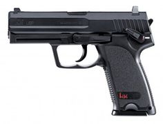 The Umarex Heckler & Koch USP is a CO2 powered air Gun. It combines all the advantages of modern multiple-shot CO2 airguns.    With the development of this pistol, USP fulfills the request of many experts for CO2 airguns with a repeating slide.    The solid all-metal quality guarantees long life.