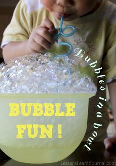 @LLJournalAust: This bubble game is all you need if you have young children in your care and you're strapped for a simple activity that is super easy to set up. #BubbleGame #bubbles