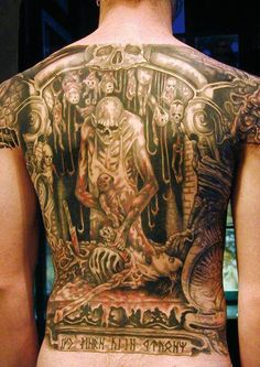 Cannibal Corpse ~ Butchered at Birth tattoo