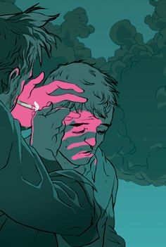 Tomer Hanuka . תומר חנוכה http://eviltender.com/2013/12/10/interview-the-calm-chaotic-art-of-tomer-hanuka