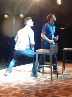 What is Jensen doing?