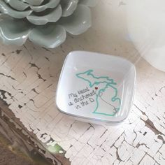 #ringdish #trinketdish #michigangift #madeinmichigan