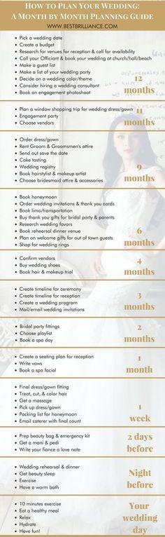 49 Tips for a Bride Planning Her Own Wedding - Page 7 of 8 - Yup Wedding #weddingplanningchecklist