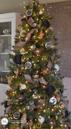 40 Ideas De Arboles Navidad Rusticos Navidad Rústica árboles De Navidad Rústicos Pinos De Navidad