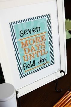Free printable countdown photo {Teacher Appreciation} | Skip To My Lou