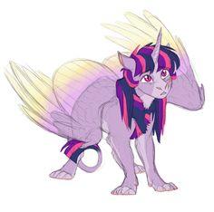Teen twily sphinx by Earthsong9405