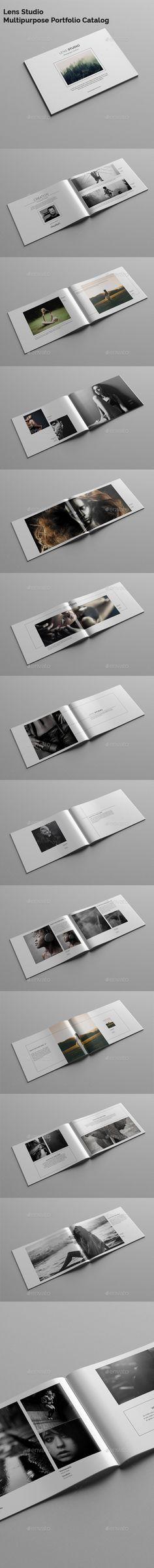 Lens Studio / Multipurpose Portfolio Catalog - Portfolio Brochures