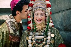 Jewish Yemenite traditional wedding outfits via @Jamie Shear.com  www.themodernjewishwedding.com