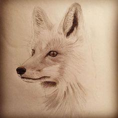 En litenbiten ræv... #moleskine #bookofstudiesandobservations #pencil #mettenoerhede #fox