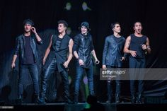Joel Pimentel, Zabdiel De Jesus, Christopher Velez, Erick Brian Colon and Richard Camacho of CNCO performs at The Palace of Auburn Hills on June 28, 2017 in Auburn Hills, Michigan.