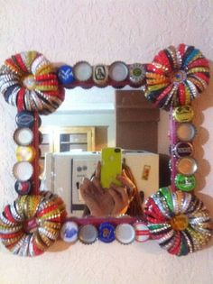 Bottle Cap Craft Ideas on Pinterest