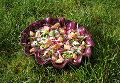 Que faire avec des restes de #pain surprise ? #antigaspi  Salade Detox  Lendemain de Fêtes