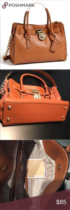 GENUINE MICHAEL KORS PURSE Satchel bag in perfect condition. Duster bag included Michael Kors Bags Satchels