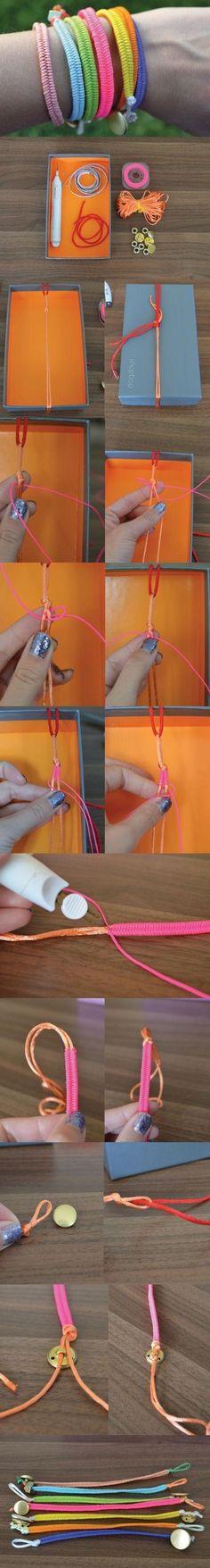 DIY Fishtail Bracelet DIY Projects