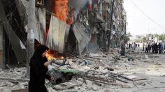 Suriye rejimi yine sivilleri öldürdü