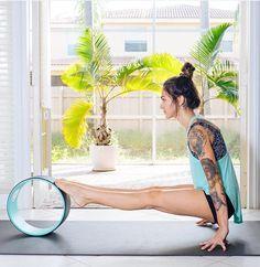 Yoga Wheel Exercise @dharmayogawheel