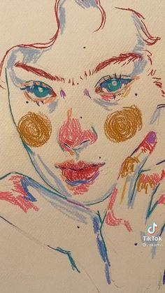 Cool Art Drawings, Art Drawings Sketches, Art Journal Inspiration, Art Inspo, Art Inspiration Drawing, Pretty Art, Cute Art, Kunst Inspo, Art Diary
