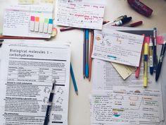 Study / Notes Inspiration - Study Tips Studyblr, Study Organization, Organizing, Pretty Notes, Study Hard, School Notes, Study Notes, Student Life, Study Motivation