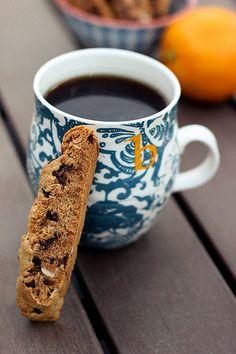 Grain-Free Orange, Almond & Dark Chocolate Biscotti - Gluten-free + Vegan (Made it, love it.)