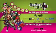 Cresta Metálica Producciones » EXPOGAME FEST 2014 comienza este viernes 23 de mayo