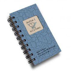 Gratitude & Acts of Kindness Mini Journal - Light Blue
