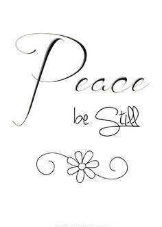 peace. #time, #peace