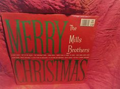 Amazing Merry Christmas The Mills Brothers Vinyl Record Old Vinyl Records, Milling, Brother, Merry Christmas, Songs, Reading, Gifts, Etsy, Merry Little Christmas