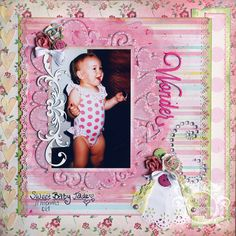 Wonderful - Carta Bella Paper - Baby Mine Collection - Girl