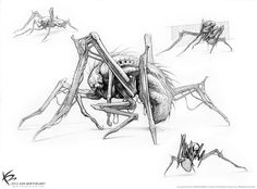 ArtStation - The Maze Runner - Creature Designs & Concept Arts, Ken Barthelmey