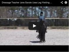 Using Leg Yielding to Help Your Dressage Horse Canter on the Correct Lead