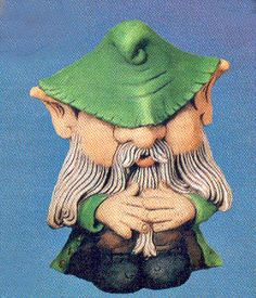 Meet Verne, a rude and scary woodland gnome who wants to be left alone.