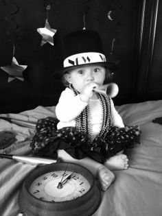 New Year Baby photo
