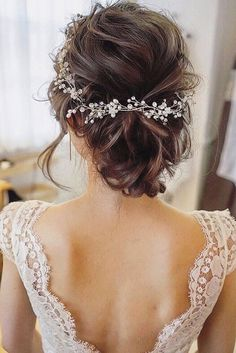 Ideas For Wedding Hairstyle Inspiration ❤ See more: http://www.weddingforward.com/wedding-hairstyle-inspiration/ #weddings