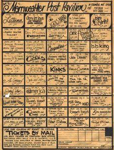 Merriweather Post Pavilion's Summer '73 Lineup Was Insane.