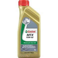 Το Castrol MTX 10W-40 είναι πολύτυπο λιπαντικό μετάδοσης βάσεως ορυκτελαίου ειδικά σχεδιασμένο για τις τελευταίας γενιάς 2-χρονες και 4-χρονες μοτοσυκλέτες δρόμου, enduro και Οn/Οff. Το Castrol MTX 10W-40 προσφέρει βέλτιστα τριβολογικά χαρακτηριστικά για γρήγορες και ομαλές αλλαγές ταχυτήτων, μεγάλη διάρκεια ζωής του συμπλέκτη και υψηλή απόδοση www.oilparts.gr