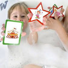 Turn bathtime in storytime with our foam bath stickers!  Move the stickers around the tub and the pictures will prompt you to create imaginative tales that everyone will enjoy.  Why is the penguin eating a cupcake? Why did the superhero go the park? Who did the policeman speak to at the circus?  #kids #educationaltoys #storytime #bathtime #babies #childhood #earlychildhood #learn #play #create #kidstore #kidsgifts #kidstoys #littlebooteekau