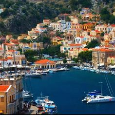 Simi - Apparently the most beautiful habour in Greece.